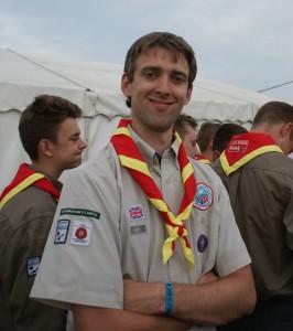 Robert Moon - Scout Leader